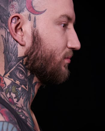 Tschüss und bis bald: Tattoo Cover-Up